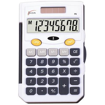 Image for JASTEK POCKET CALCULATOR BLUE from Our Town & Country Office National