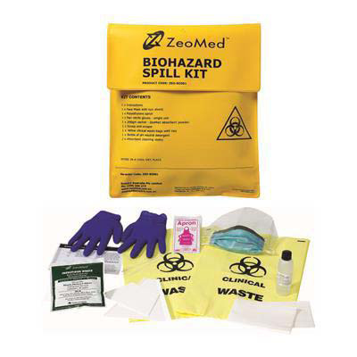 Image for ZEOMED BIOHAZARD CLEAN UP KIT from The Paper Bahn Office National