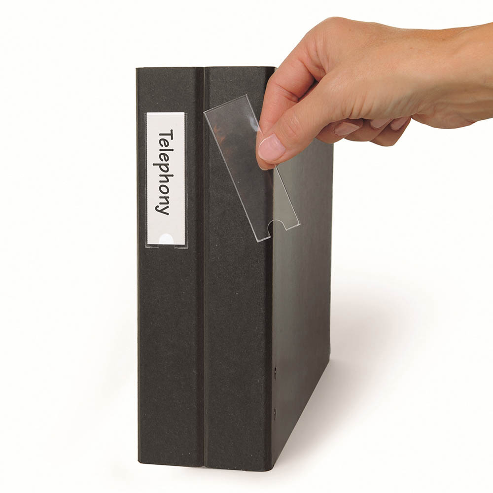 Image for 3L LABEL HOLDER 25 X 102MM PACK 12 from Office National Sydney Stationery