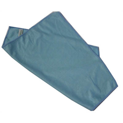 Image for CLEANLINK MICROFIBRE GLASS CLEANING CLOTH 400 X 400MM BLUE from Wetherill Park / Smithfield Office National
