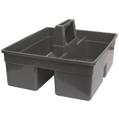 Image for CLEANLINK PLASTIC UTILITY TRAY GREY from Wetherill Park / Smithfield Office National