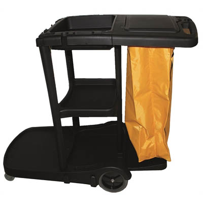 Image for CLEANLINK 3 TIER JANITOR CART WITH LID from Aztec Office National Melbourne