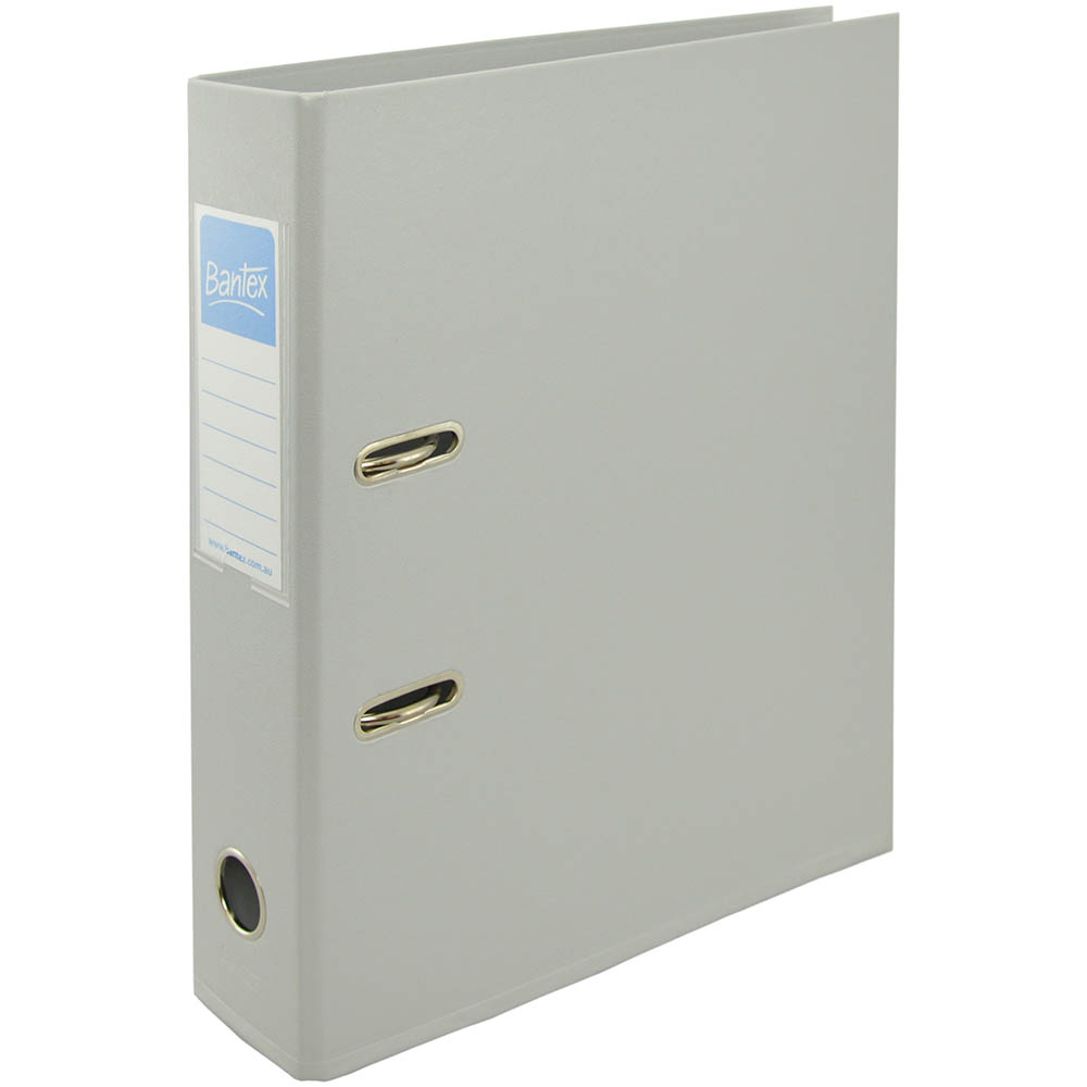 Image for BANTEX LEVER ARCH FILE 70MM A4 GREY from Office National Perth CBD