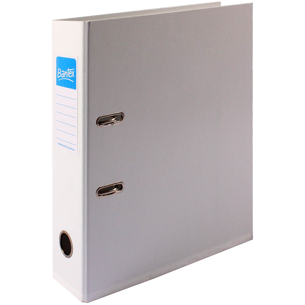 Image for BANTEX LEVER ARCH FILE 70MM A4 WHITE from Office National Perth CBD