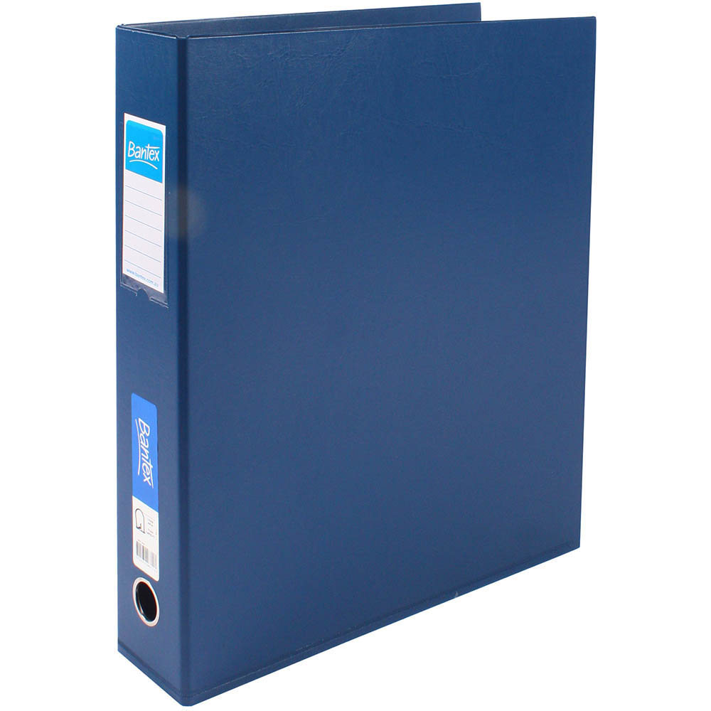 Image for BANTEX LEVER ARCH FILE PORTRAIT 65MM A3 BLUE from Axsel Office National