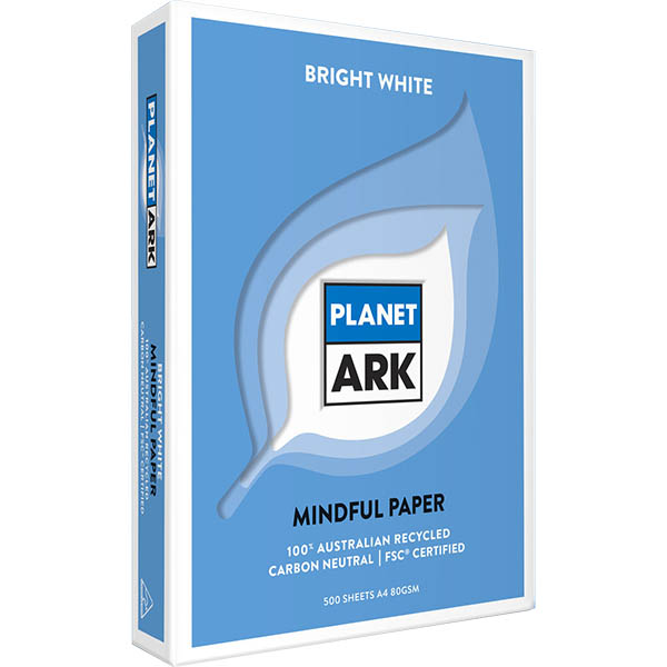 Image for PLANET ARK MINDFUL A4 COPY PAPER 80GSM WHITE PACK 500 SHEETS from Aztec Office National Melbourne