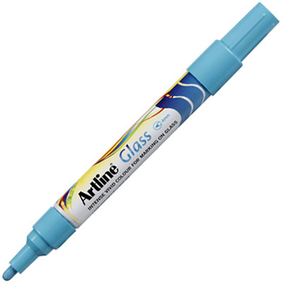 Image for ARTLINE GLASS MARKER BULLET 2MM BLUE from Axsel Office National