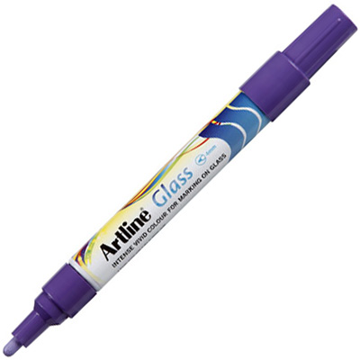 Image for ARTLINE GLASS MARKER BULLET 2MM PURPLE from Office National Perth CBD