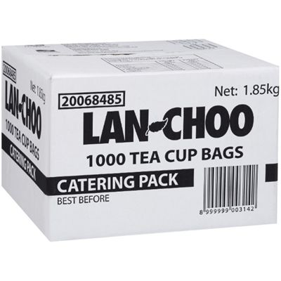 Image for LAN CHOO TEA BAGS STRING AND TAG BOX 1000 from Express Office National
