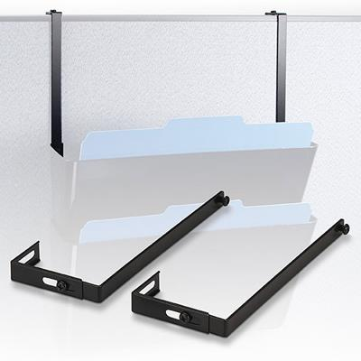 Image for ESSELTE VERTICALMATE PARTITION HANGER CHARCOAL PACK 2 from Pirie Office National