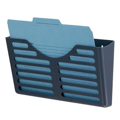 Image for ESSELTE VERTICALMATE FILE POCKET X1 CHARCOAL from Pirie Office National