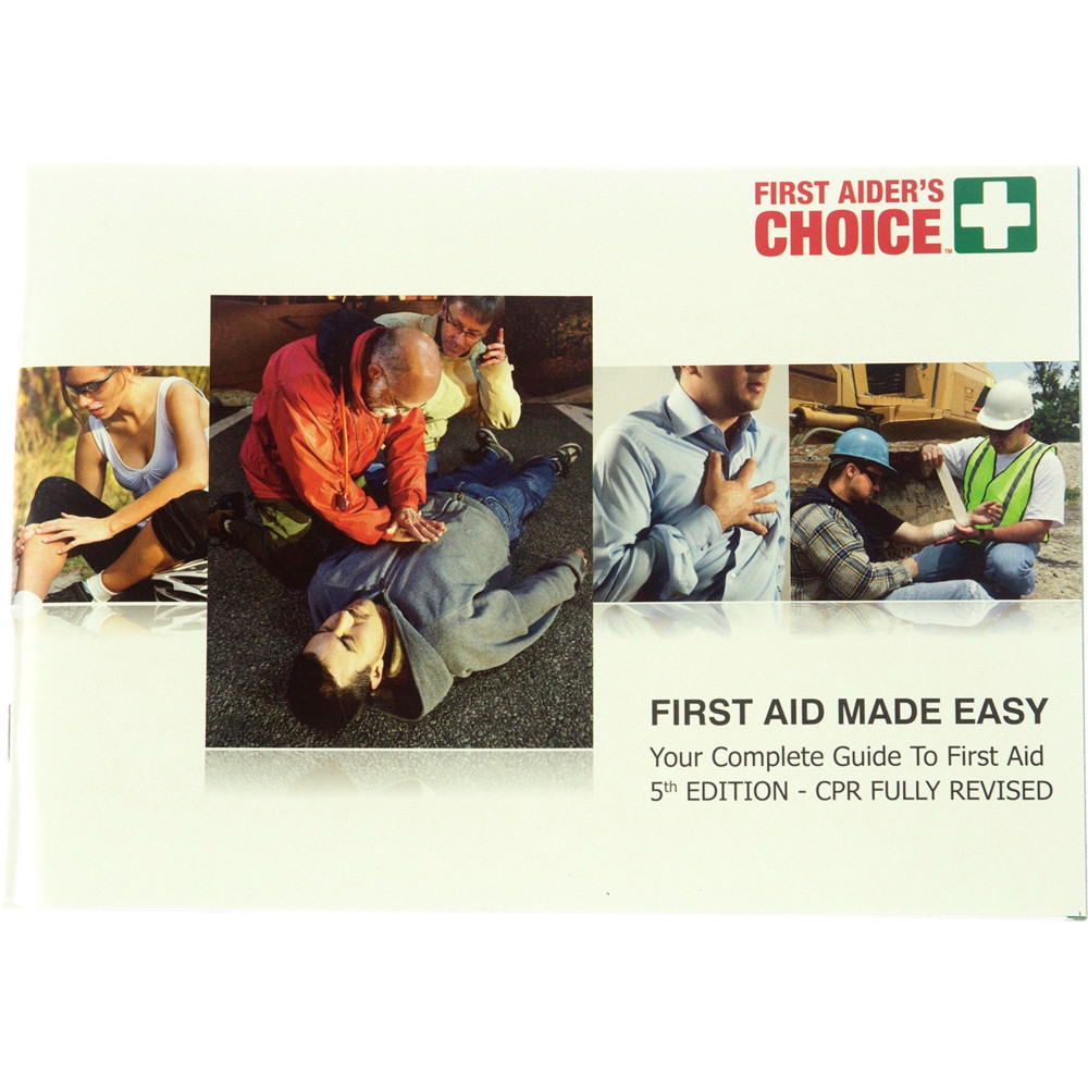Image for TRAFALGAR FIRST AID MADE EASY MANUAL from PaperChase Office National