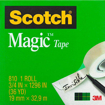 Image for SCOTCH 810 MAGIC TAPE 19MM X 33M from Axsel Office National