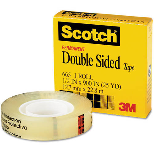 Image for SCOTCH 665 DOUBLE SIDED TAPE 19MM X 33M from Office National Perth CBD