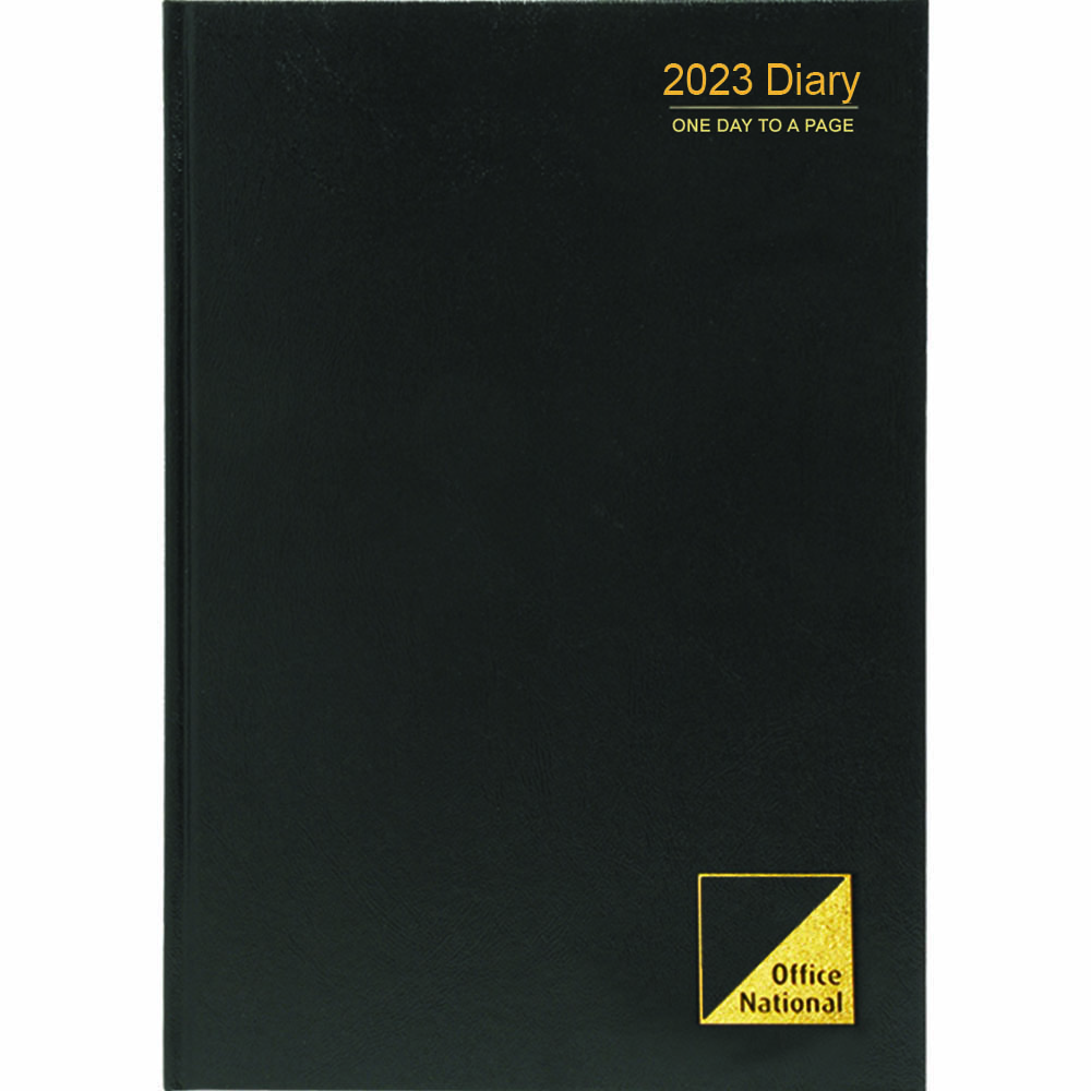 Image for OFFICE NATIONAL 2021 DIARY 1 DAY TO PAGE 15 MINUTES A4 from Paul John Office National