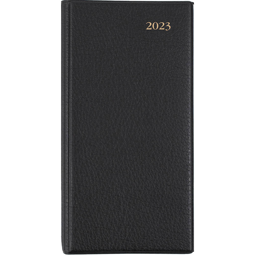 Image for DEBDEN 2021 ASSOCIATE SLIMLINE DIARY WEEK TO VIEW B6/7 BLACK from Office National Perth CBD