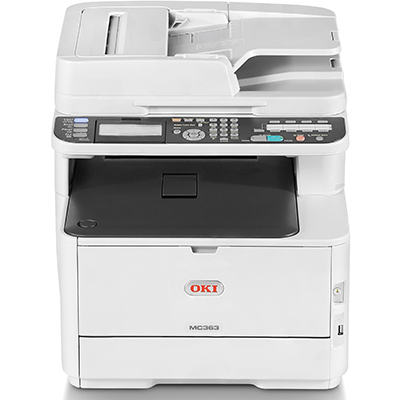 Image for OKI MC363DN LED PRINTER MULTIFUNCTION COLOUR A4 26PPM from Aztec Office National