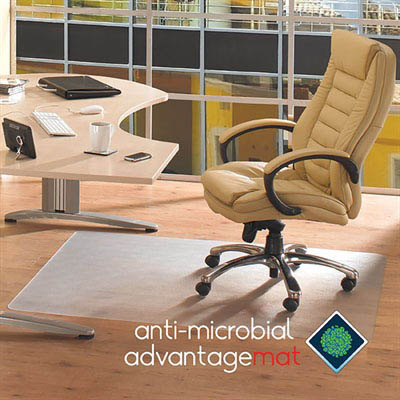 Image for FLOORTEX ANTI-MICROBIAL CHAIRMAT RECTANGLE HARD FLOOR 1200 X 1500MM from Wetherill Park / Smithfield Office National