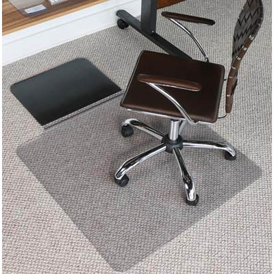 Image for JASTEK SIT STAND CHAIRMAT KEYHOLE 910 X 1340MM from Coleman's Office National
