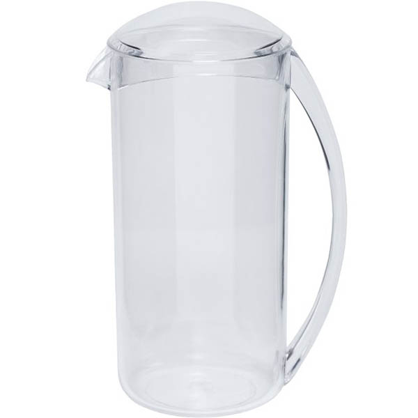 Image for CONNOISSEUR FRIDGE DOOR JUG MS PLASTIC WITH LID 1L from Pirie Office National