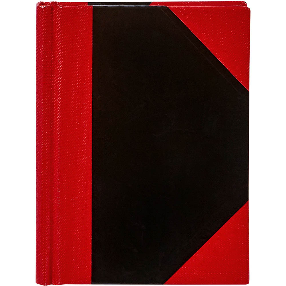 Image for SPIRAX NOTEBOOK CASEBOUND RULED 100 LEAF A5 BLACK/RED from Office National Perth CBD