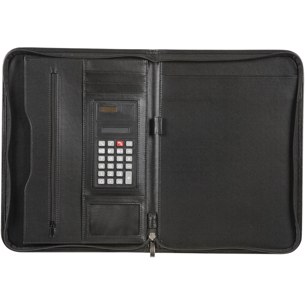 Image for SPIRAX SLIMLINE ZIPPERED COMPENDIUM A4 BLACK from Axsel Office National