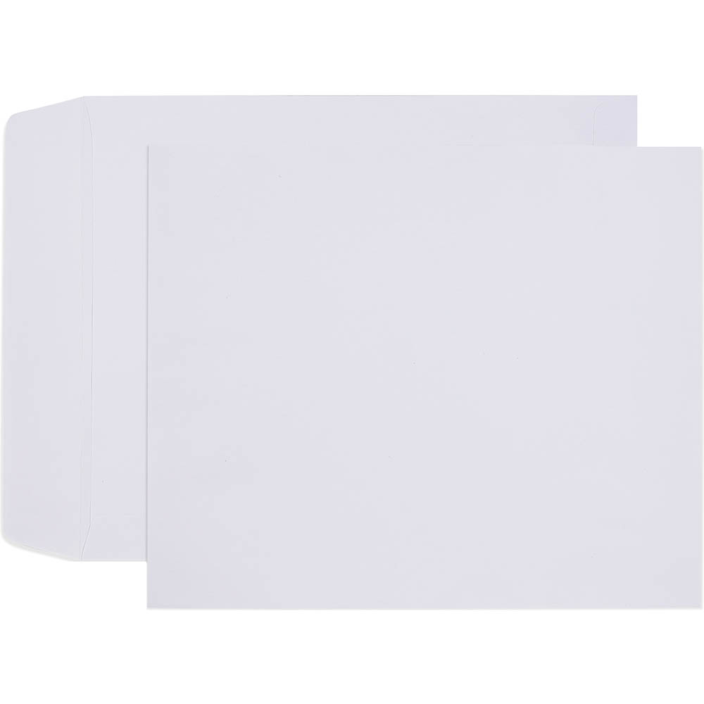 Image for CUMBERLAND ENVELOPES X-RAY POCKET PLAINFACE UNGUMMED 100GSM 267 X 318MM WHITE BOX 250 from Office National Perth CBD
