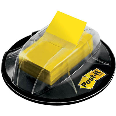 Image for POST-IT 680-HVYW FLAGS VALUE PACK DESK DISPENSER 200 FLAGS YELLOW from Paul John Office National