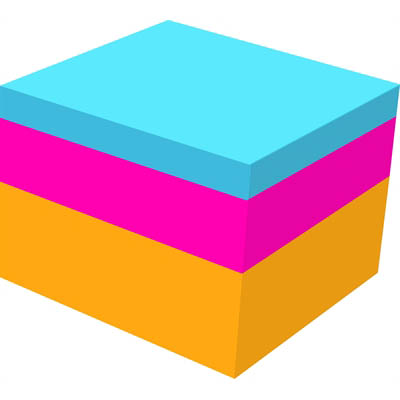Image for POST-IT 2053-ELT-O NOTE CUBE 76 X 76MM RIO DE JANEIERO from Axsel Office National