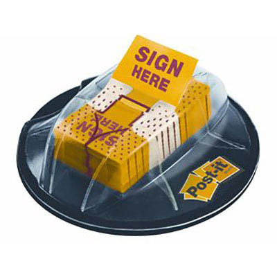 Image for POST-IT 680-HVSH SIGN HERE FLAGS VALUE PACK DESK DISPENSER from Office National Perth CBD