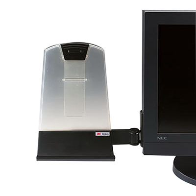 Image for 3M DH445 DOCUMENT HOLDER FLAT PANEL BLACK from Wetherill Park / Smithfield Office National
