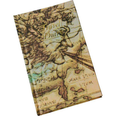 Image for CUMBERLAND TRIP BOOK WORLD MOTIF 170 X 105MM from Office National Sydney Stationery