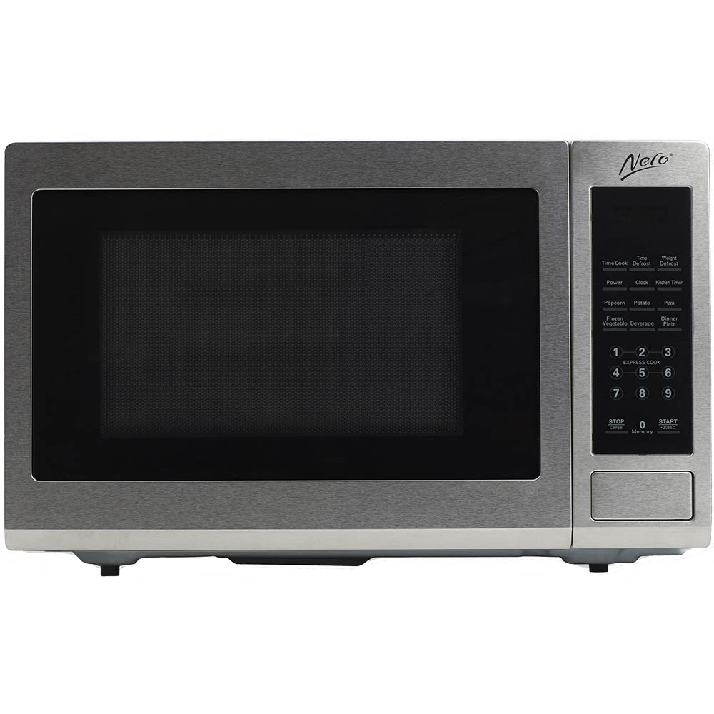 Image for NERO MICROWAVE 900 WATT 30 LITRE STAINLESS STEEL from Our Town & Country Office National