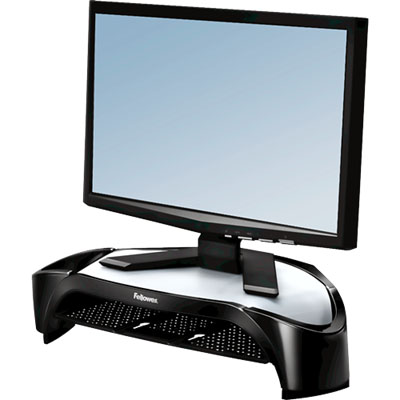 Image for FELLOWES MONITOR RISER PLUS SMART SUITES 101.6 X 477.8 X 328.6MM PLASTIC BLACK from Paul John Office National