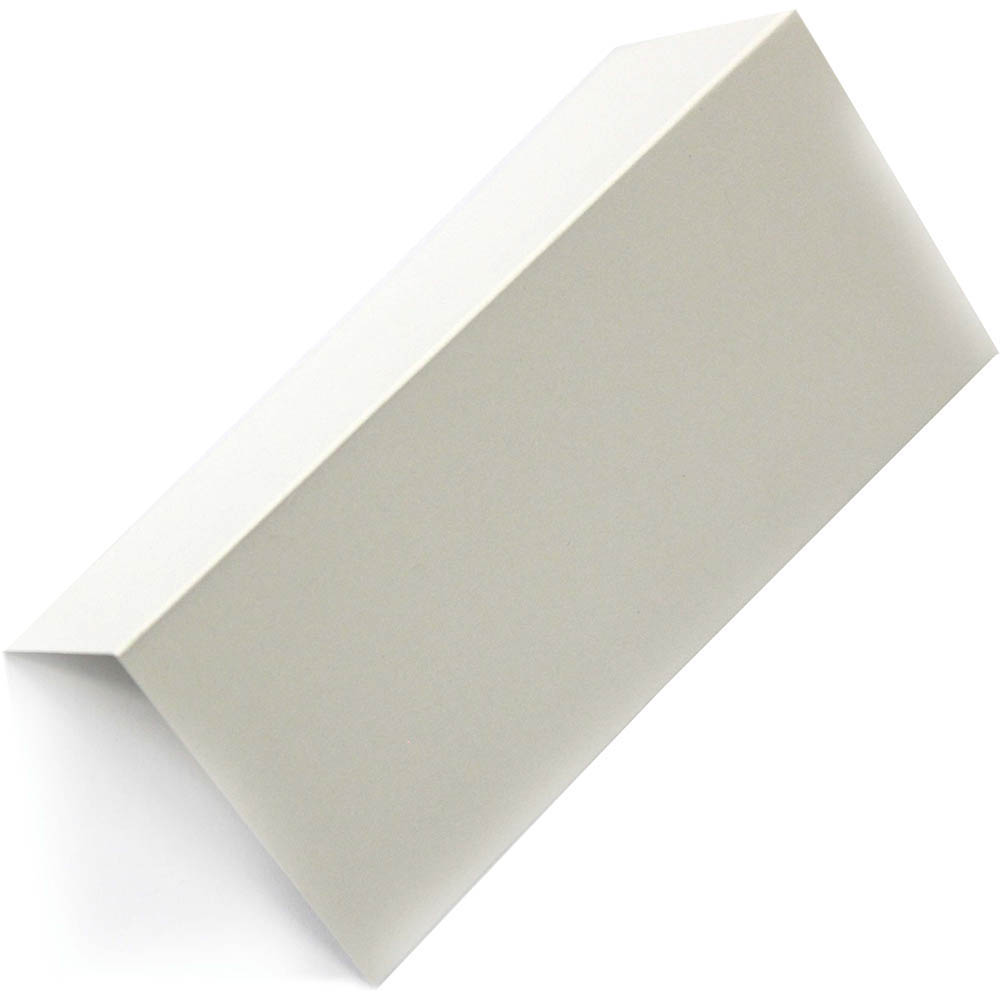 Image for COLOURFUL DAYS PLAIN PLACE CARD 250GSM 100 X 92MM CREAM PACK 10 from Wetherill Park / Smithfield Office National