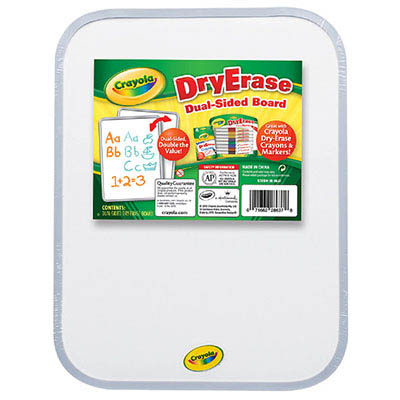 Image for CRAYOLA DRY-ERASE BOARD DUAL-SIDED from Wetherill Park / Smithfield Office National