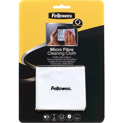 Image for FELLOWES SURFACE CLEANING MICROFIBRE CLOTH 220 X 150MM WHITE from Our Town & Country Office National