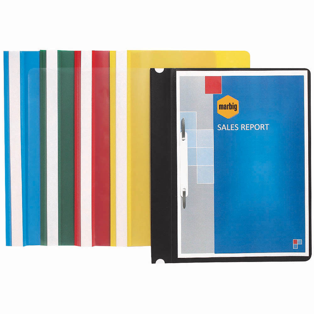 Image for MARBIG ECONOMY FLAT FILE A4 YELLOW from Paul John Office National