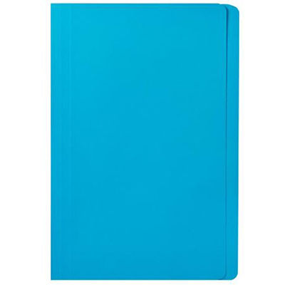 Image for MARBIG MANILLA FOLDER FOOLSCAP BLUE BOX 100 from Office National Perth CBD