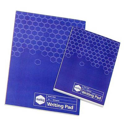 Image for MARBIG SOCIAL WRITING PAD 100 LEAF A5 from Axsel Office National