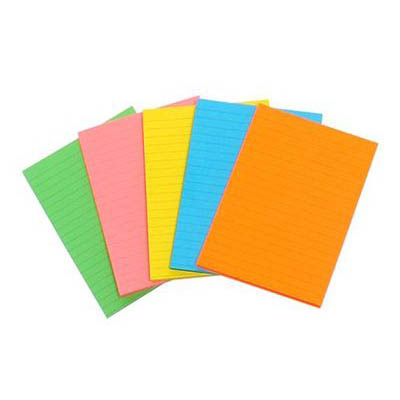 Image for MARBIG FLUORO WRITING PAD A6 40 LEAF from Axsel Office National