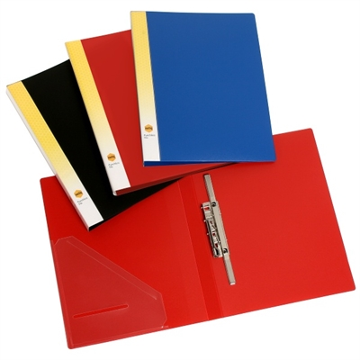 Image for MARBIG PUNCHLESS FILE A4 BLACK from Surry Office National