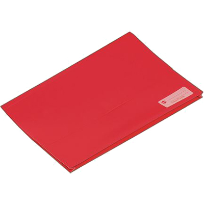 Image for MARBIG POLYPICK WALLET FOOLSCAP RED from Paul John Office National