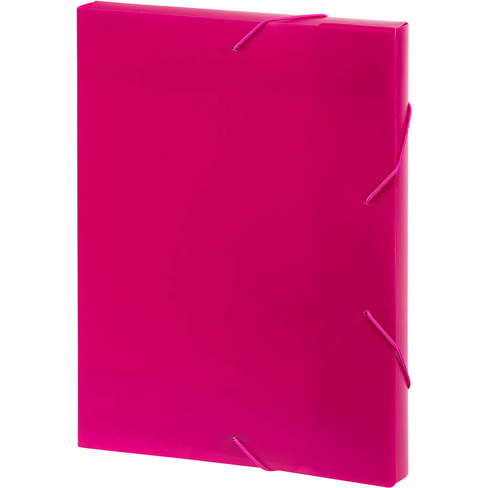 Image for MARBIG DOCUMENT BOX A4 PINK from Pirie Office National