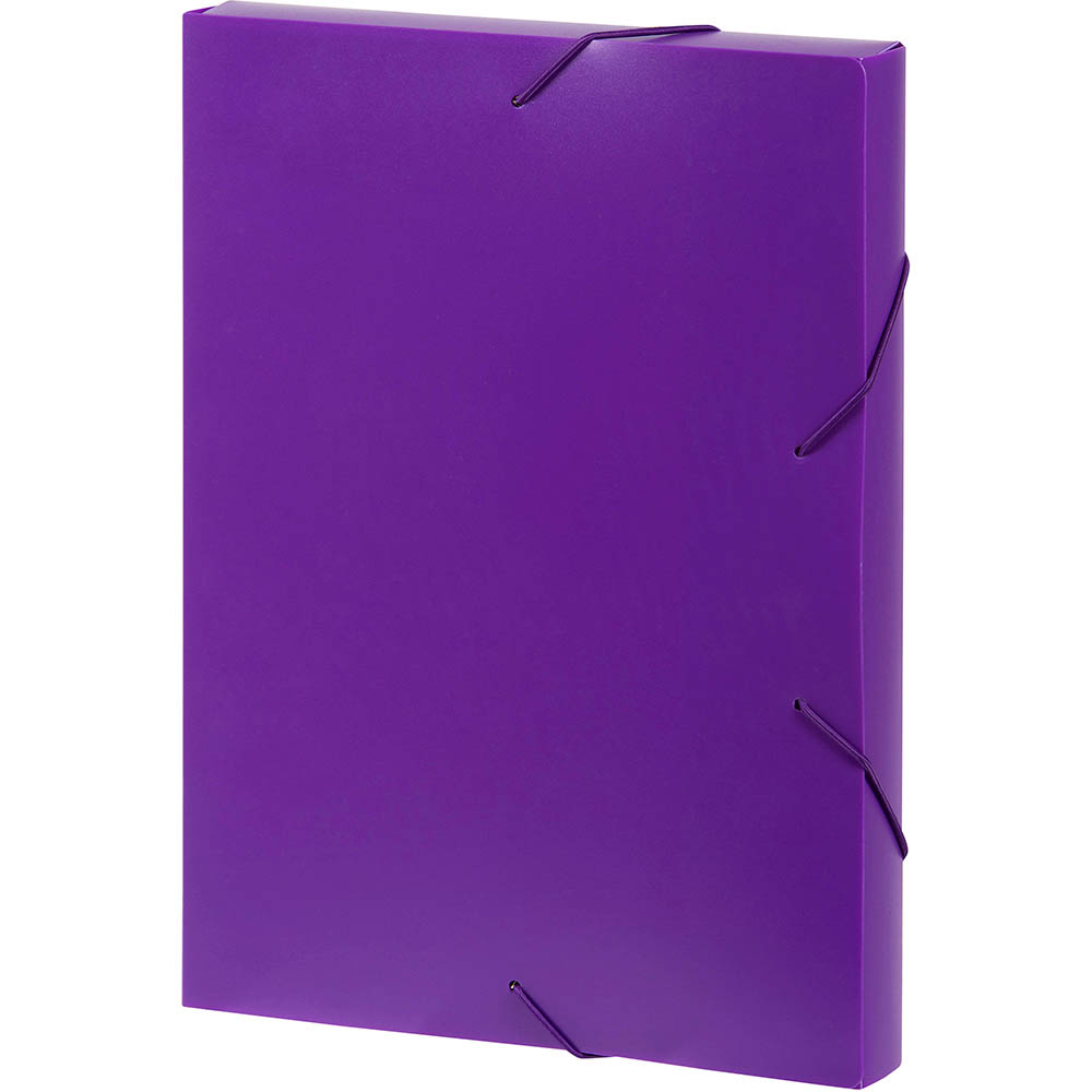 Image for MARBIG DOCUMENT BOX A4 PURPLE from Paul John Office National