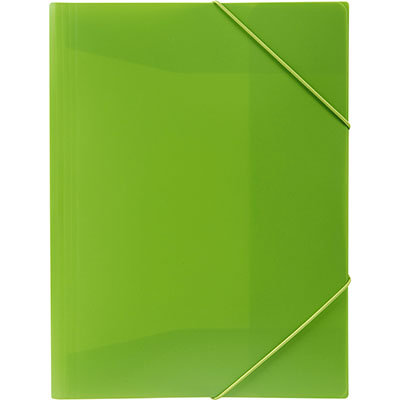 Image for MARBIG SOFT TOUCH DOCUMENT WALLET A4 LIME from Office National Kalgoorlie