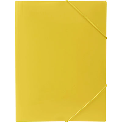 Image for MARBIG SOFT TOUCH DOCUMENT WALLET A4 LEMON from Office National Kalgoorlie