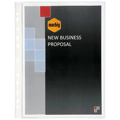 Image for MARBIG DELUXE COPYSAFE SHEET PROTECTORS A3 BOX 100 from Axsel Office National