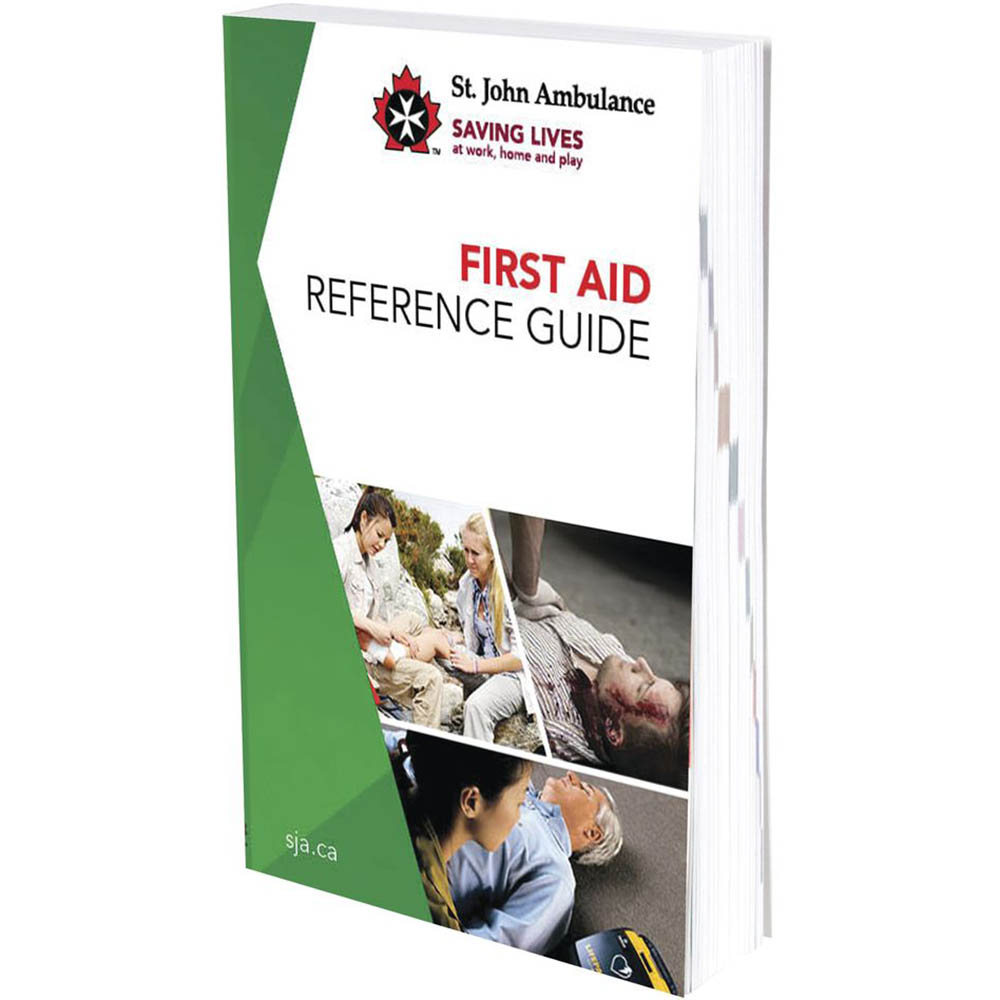 Image for ST JOHN GUIDE TO FIRST AID from Aztec Office National Melbourne
