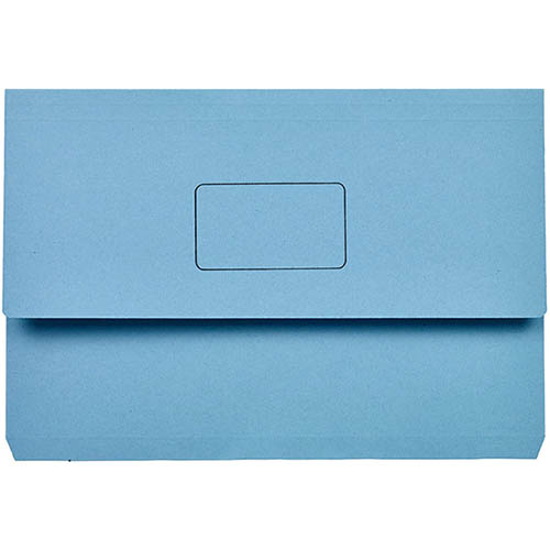 Image for MARBIG SLIMPICK DOCUMENT WALLET FOOLSCAP BLUE from Paul John Office National